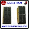 China wholesale 3 years warranty ram memory ddr3 sodimm 1333 4gb