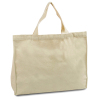 Plain White Cotton Canvas Tote Bag