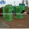 Large capacity chain bucket elevator for cement
