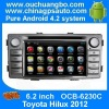 Ouchuangbo Auto DVD Player for Toyota Hilux 2012 GPS Navigation Android 4.2 System 3G Wifi TV System