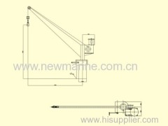 Electric / Handing Slewing Crane