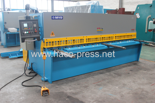 E10s Hydaulic shearing machine with swing Beam 20x4000