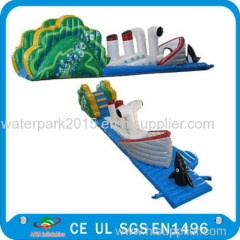 Inflatable Trampoline Inflatable Water Parks Construction Water bouncer For Kids and Adults