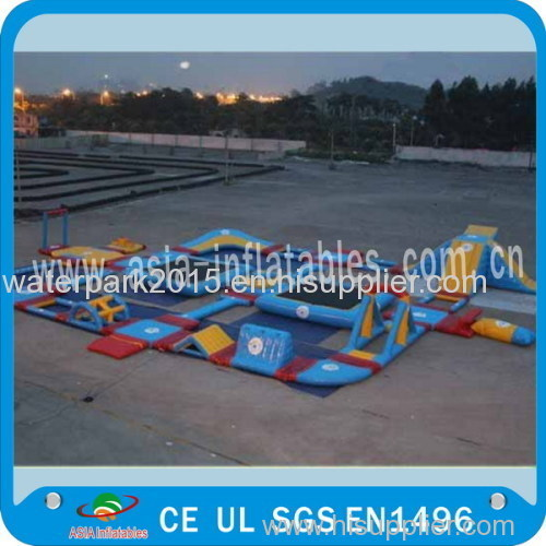 Inflatable Water Parks For Amusement Park / commercial water slides