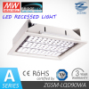 CE/RoHS listed 100W LED canopy light