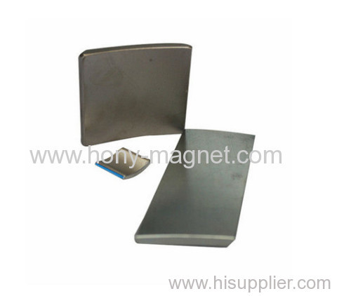 Rare earth sintered neodymium strong magnet Arc