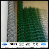 6ft*18m*2.2mm grass green chain link wire mesh