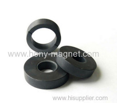 Special bonded ring permanent rare earth magnet material