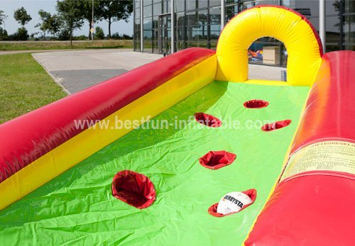 Football inflatable golf game
