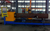3 Axis Steel Pipe CNC Plasma and Flame Cutting Machine