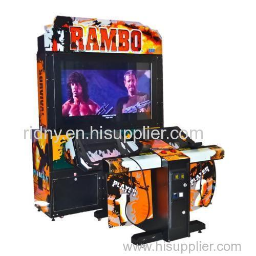 Rambo Shooting Game Arcade Machine Amusement Park Equipment RAMBO shooting machine