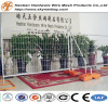 Portable galvanized temporary welded wire mesh fence products