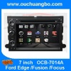 Ouchuangbo Car navigation DVD Stereo System for Ford Edge /Fusion /Focus