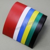 High Quality Flexible Magnetic Material 50mm x 0.4mm Magnetic Sheet With PVC Vinyl