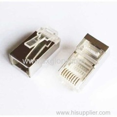 shielded 8P8C modular plug