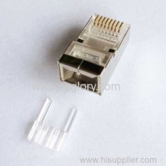 Cat.6 8p8c Modular plug with insert
