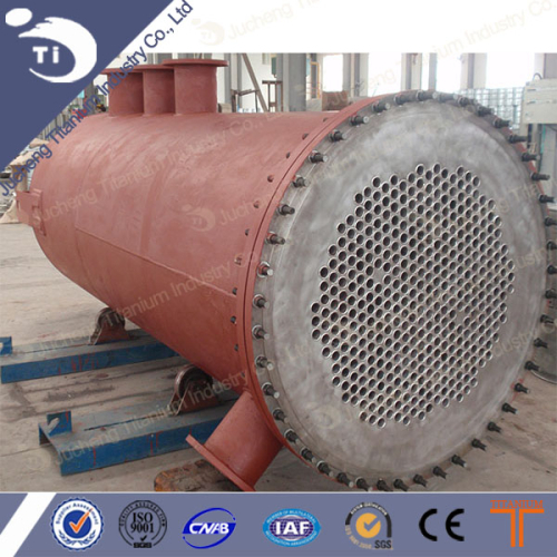 Best Price Titanium Shell Tube Heat Exchanger