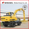 Wheeled Hydraulic Stacker Excavator Grab