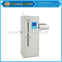 Yarn tensile testing machine