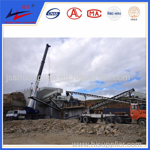 Belt Conveyor Bulk Material Handing Equipment