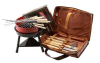 bag packed bbq grill and tools set