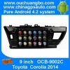 Ouchuangbo Car Radio DVD System for Toyota Corolla 2014 Android 4.2 3G Wifi Bluetooth Radio Stereo Player