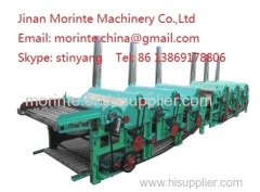 Flax processing recycling machine