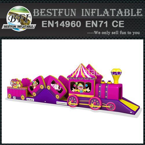 Bottom price inflatable water slide park