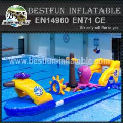 Exciting floating water toys