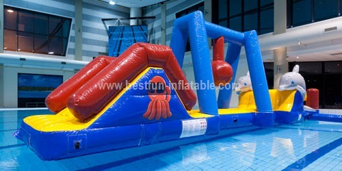 Cheap inflatable water theme park