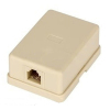 Telephone Rosette Surface Box