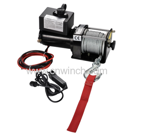 3000lb eletric Winch for ATVs with 3m switch control lead1.83m battery cable