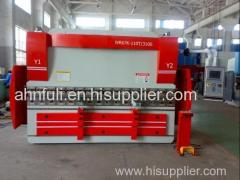 WE67K-200x3200 CNC electric-hydraulic synchronization hydrualic steel plate bending machine and press brake
