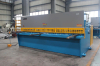 NC iron plate shearing machine
