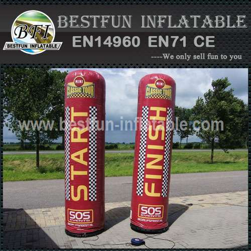 Custom inflatable advertising columns