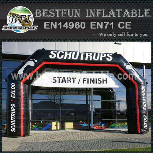 Inflatable arch Schutrups measure