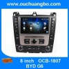 Ouchuangbo Car Head Unit DVD System fo BYD G6 Auto Multimedia System