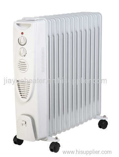 Oil Filled Radiator Heater With Fan