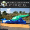 Entertainment inflatable bouncy slide