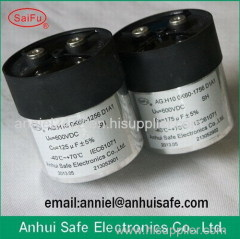 DC capacitor factory manufactuer 400uf 1200V film DC LINK capacitor photovoltaic solar power