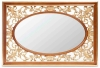 Mirror wooden frame mirror dressing mirror decoration mirror console mirror