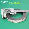 3M 15x3.2 mm Adhesive magnetic strip 3M Magnetic tape manufacturers rolled Magnetic tape adhesive