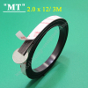 3M 12x2.2 mm Double sided magnetic tape 3M Rubber magnetic strip sticky Magnetic strip adhesive