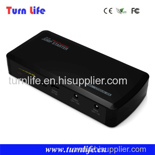 Turnlife 12000mAh car emergency start power multi-function portable battery jump starter for 12v car