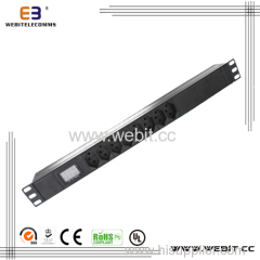 19'' Swiss used PDU strip outlet