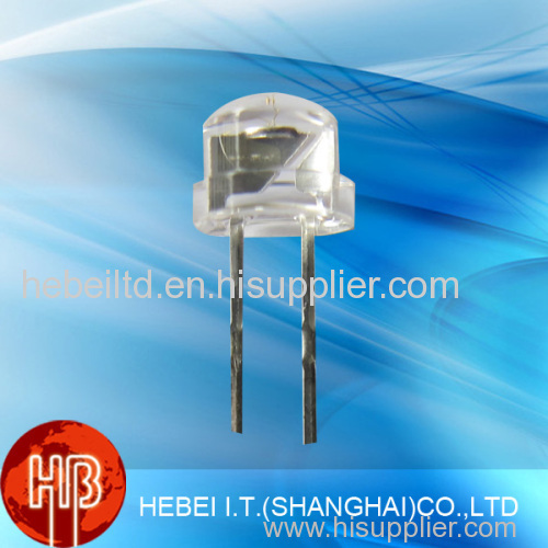 4.8mm Red Straw Hat Light Emitting Diode