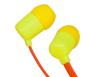 Colorful Flat Cable Earphone