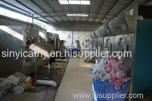 10-100kg automatic hotel commercial laundry equipment industrial washing machine
