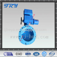 electric air ventilation butterfly valve vent / fan air control damper