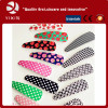 Hot sale Children plastic hair clip hot stamping foil